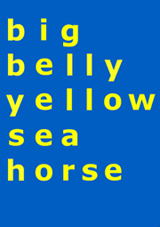 yellow-sea-horse